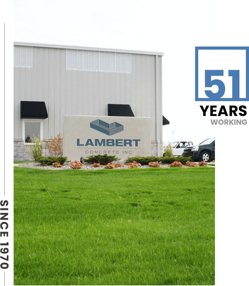 Lambert Concrete Inc What We Are